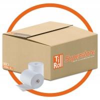 80 x 80 Thermal Till Roll Epos Receipt Paper 1 Box 20 Rolls 80 x 80 x 12.7mm Core 80x80 Fit Ellix 40