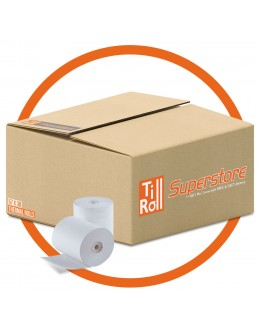 57 x 38 x 12.7 Thermal Paper Till Rolls (box of 20)