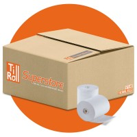 57 x 40 x 12.7 Thermal Paper Till Rolls (box of 20) FREE DELIVERY
