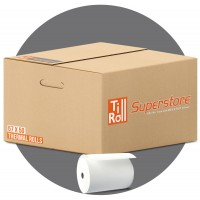 57 x 50 x 12.7 Thermal Paper Till Rolls (box of 20) FREE DELIVERY