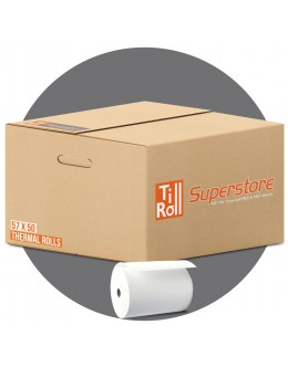 57 x 50 x 12.7 Thermal Paper Till Rolls (box of 20)